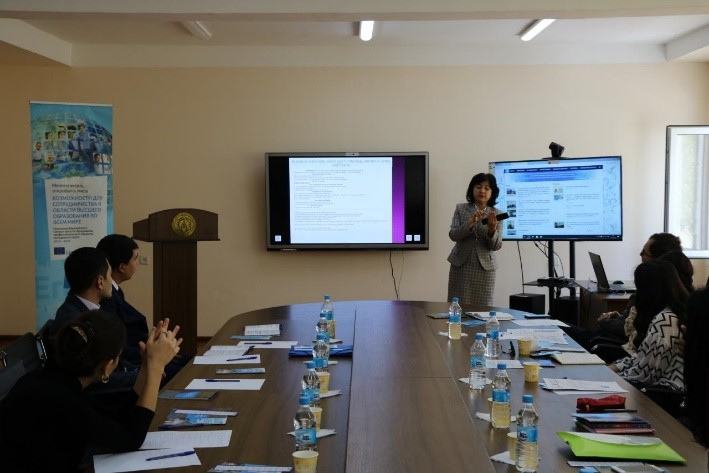 Head of International Cooperation Department of TCTI Z.A. Babakhanova